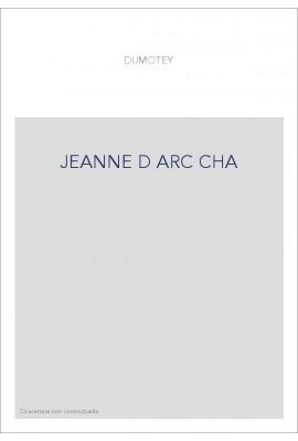 JEANNE D ARC CHA