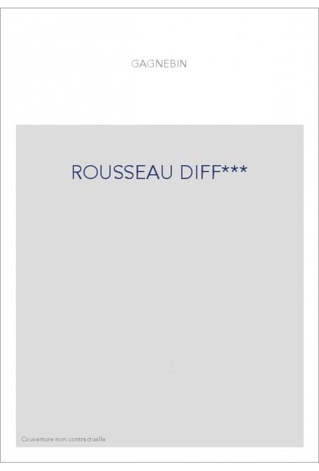 ROUSSEAU DIFF***