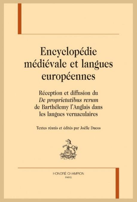 ENCYCLOPÉDIE MÉDIÉVALE ET LANGUES EUROPÉENNES.