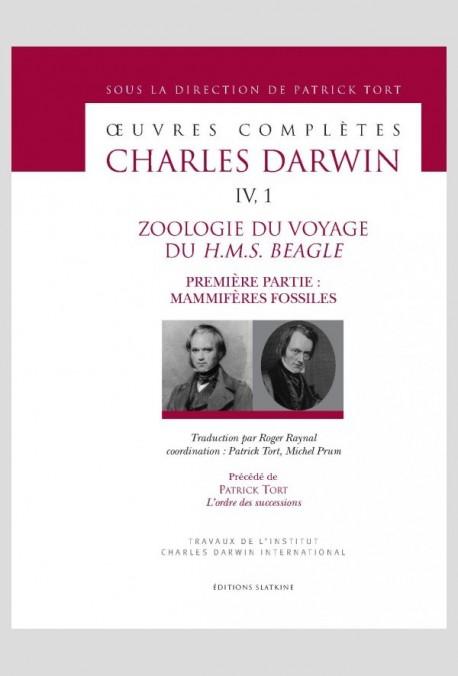 ZOOLOGIE DU VOYAGE DU H.M.S. BEAGLE  PREMIÈRE PARTIE : MAMMIFÈRES FOSSILES
