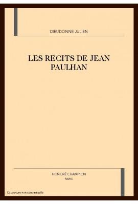 LES RECITS DE JEAN PAULHAN