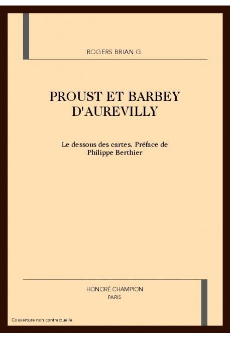 PROUST ET BARBEY D'AUREVILLY