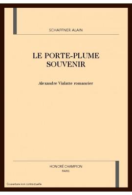 LE PORTE-PLUME SOUVENIR