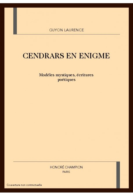 CENDRARS EN ENIGMES