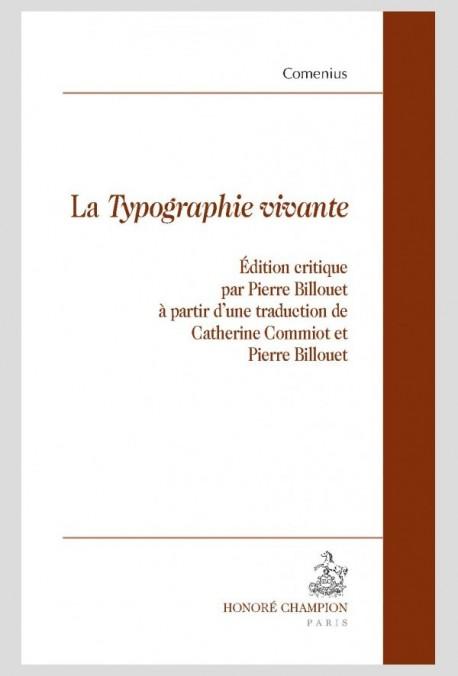 LA TYPOGRAPHIE VIVANTE