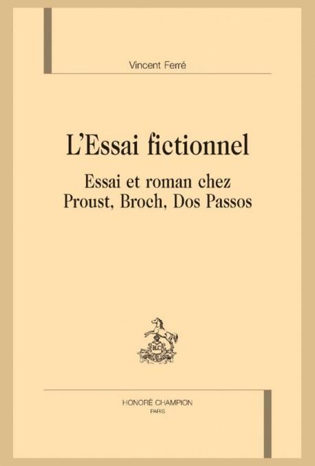 L' ESSAI FICTIONNEL