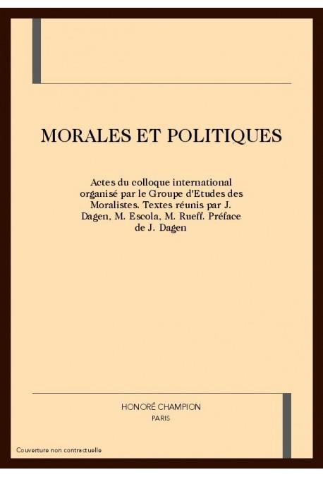 MORALES ET POLITIQUES