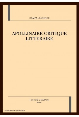 APOLLINAIRE CRITIQUE LITTERAIRE