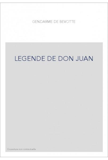 LEGENDE DE DON JUAN