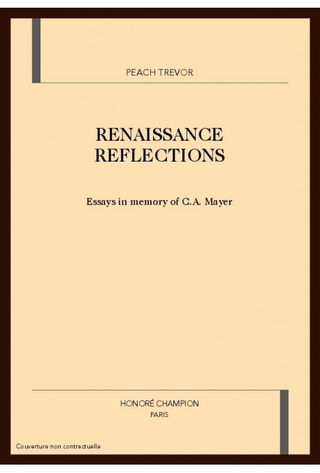 RENAISSANCE REFLECTIONS
