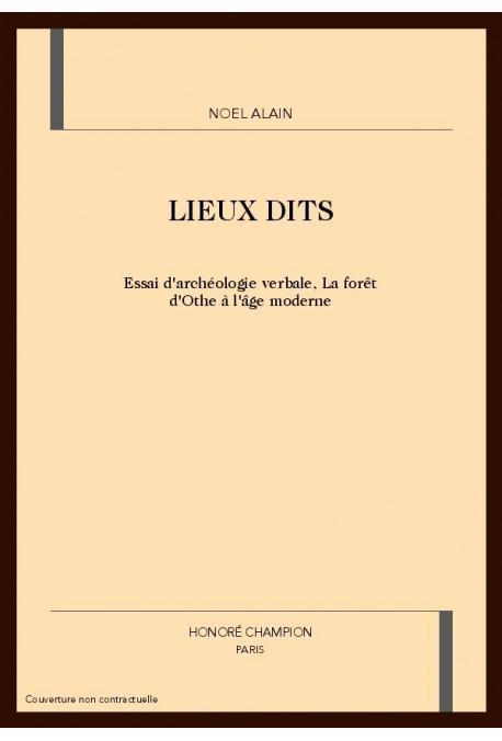 LIEUX DITS