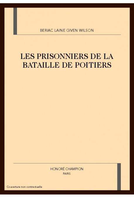 LES PRISONNIERS DE LA BATAILLE DE POITIERS