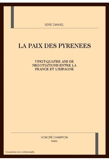 LA PAIX DES PYRENEES