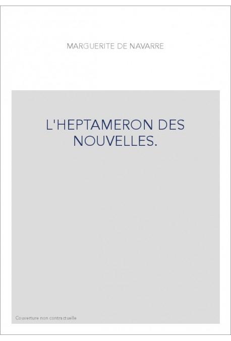 L'HEPTAMERON DES NOUVELLES.