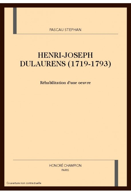 HENRI-JOSEPH DULAURENS (1719-1793)