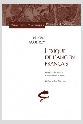 LEXIQUE DE L'ANCIEN FRANCAIS