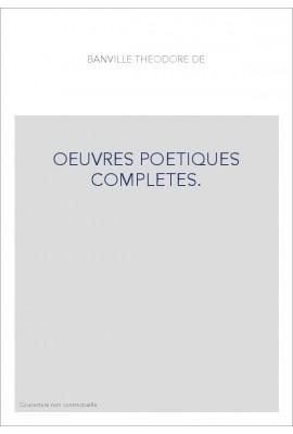 OEUVRES POETIQUES COMPLETES. TOME VII. NOUS TOUS, SONNAILLES ET CLOCHETTES