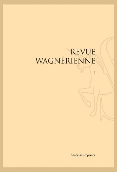 REVUE WAGNERIENNE