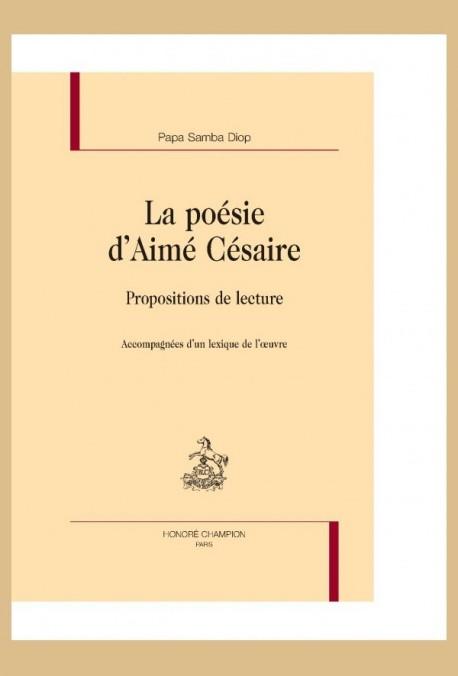 La Poesie Daime Cesaire