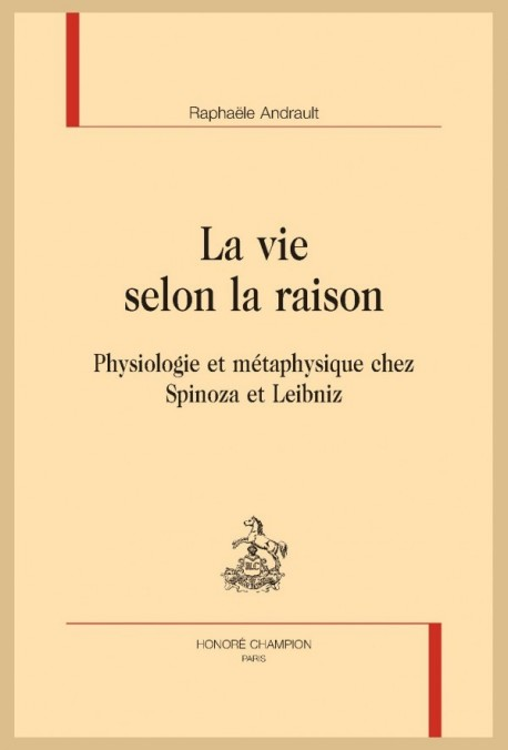 LA VIE SELON LA RAISON