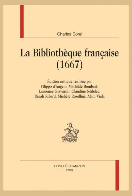 LA BIBLIOTHÈQUE FRANÇAISE (1667)