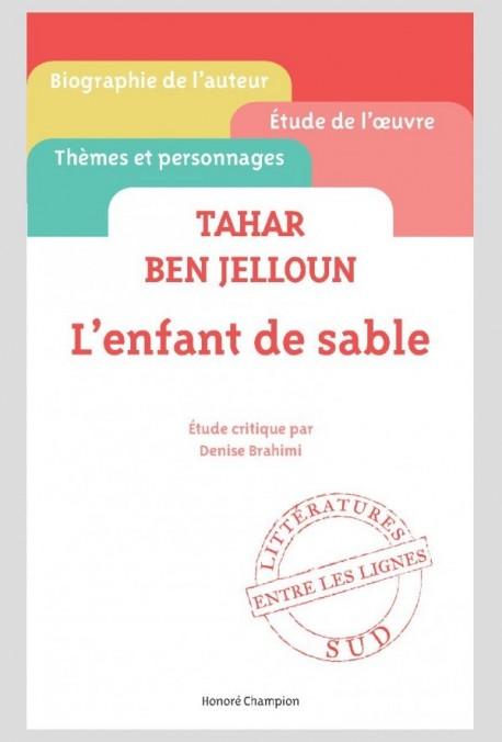 TAHAR BEN JELLOUN - L'ENFANT DE SABLE
