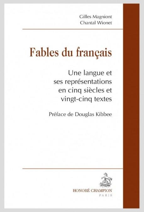 FABLES DU FRANÇAIS