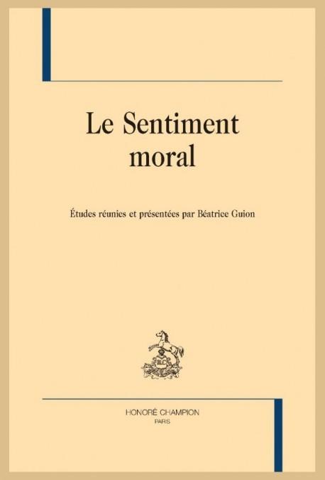 LE SENTIMENT MORAL