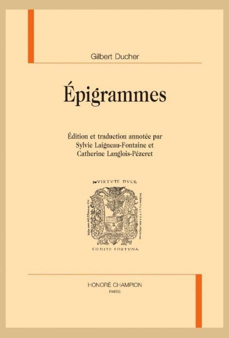 ÉPIGRAMMES