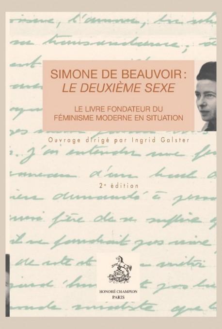 SIMONE DE BEAUVOIR : LE DEUXIEME SEXE.