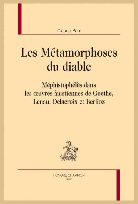 LES MÉTAMORPHOSES DU DIABLE