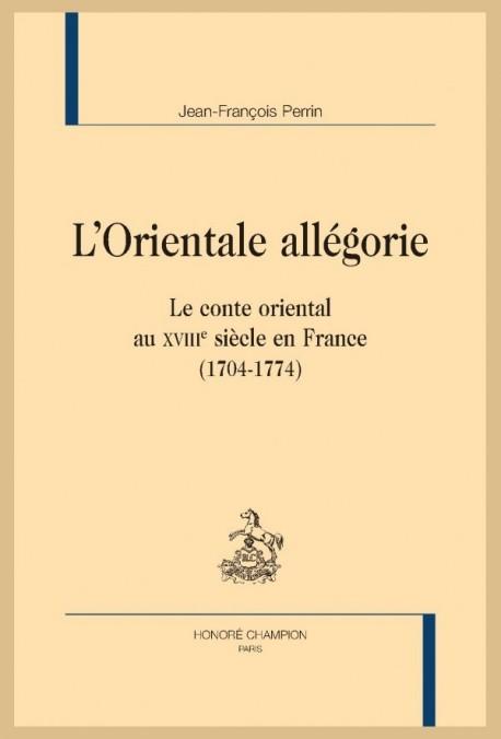 L'ORIENTALE ALLÉGORIE