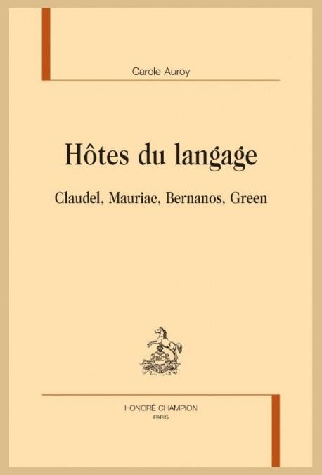 HÔTES DU LANGAGE