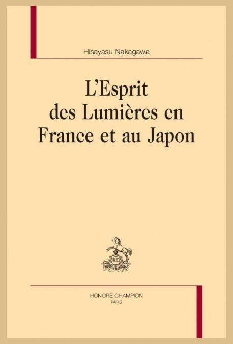 L'ESPRIT DES LUMIÈRES EN FRANCE ET AU JAPON