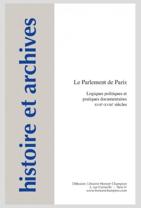 LE PARLEMENT DE PARIS