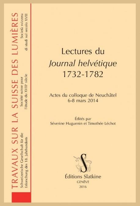 LECTURES DU JOURNAL HELVÉTIQUE 1732-1782