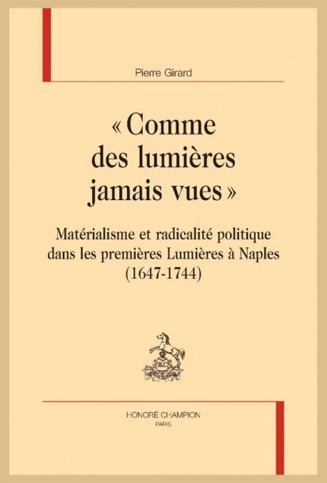 """""""COMME DES LUMIÈRES JAMAIS VUES"""""""