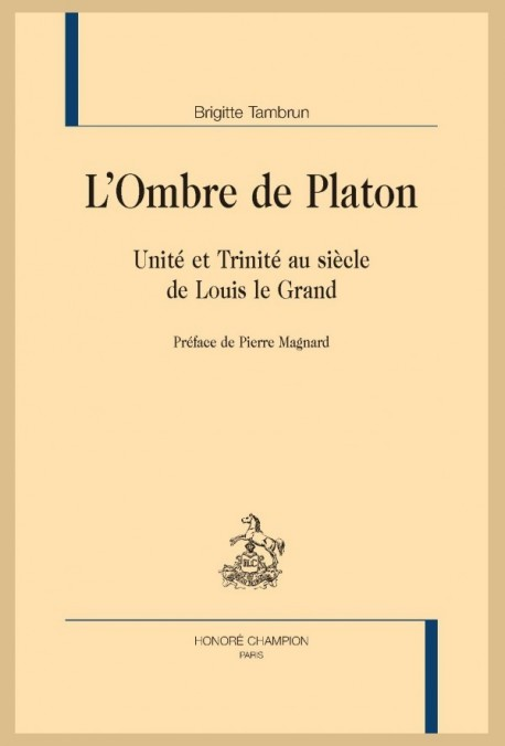 L'OMBRE DE PLATON
