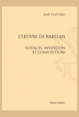 L'OEUVRE DE RABELAIS