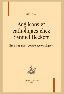 ANGLICANS ET CATHOLIQUES CHEZ SAMUEL BECKETT