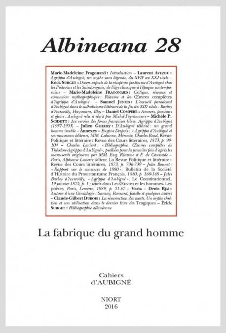 LA FABRIQUE DU GRAND HOMME