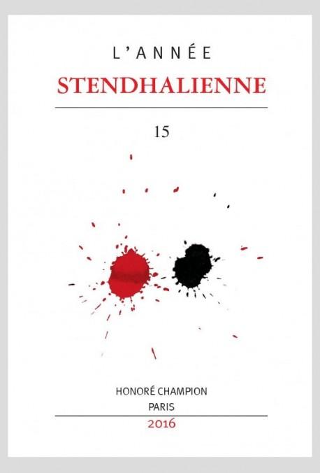 L'ANNÉE STENDHALIENNE 15