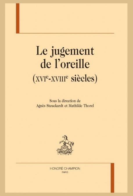 LE JUGEMENT DE L'OREILLE