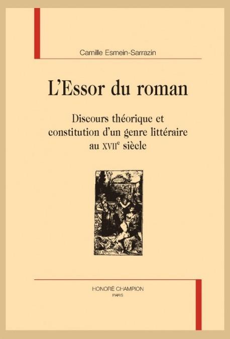 L'ESSOR DU ROMAN