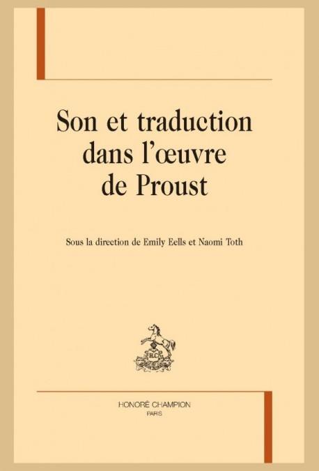 SON ET TRADUCTION DANS L'OEUVRE DE PROUST