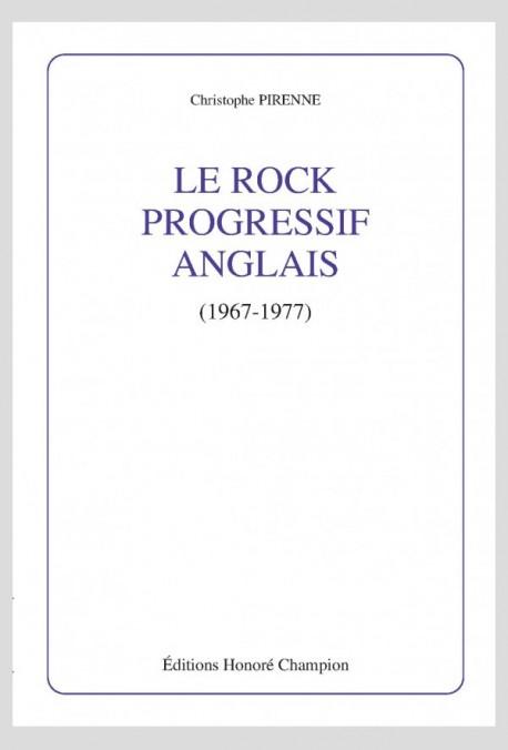 LE ROCK PROGRESSIF ANGLAIS 1967 1977