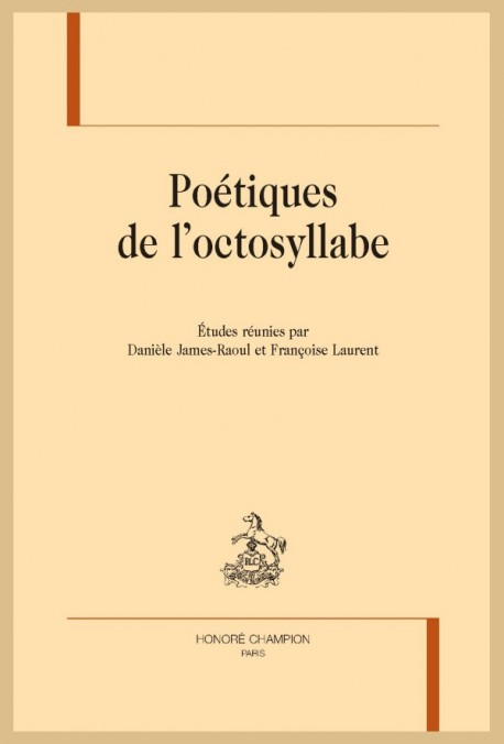 POÉTIQUE DE L'OCTOSYLLABE