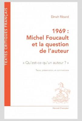 1969 : MICHEL FOUCAULT ET LA QUESTION DE L'AUTEUR