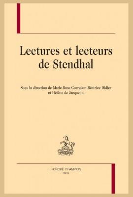 LECTURES ET LECTEURS DE STENDHAL