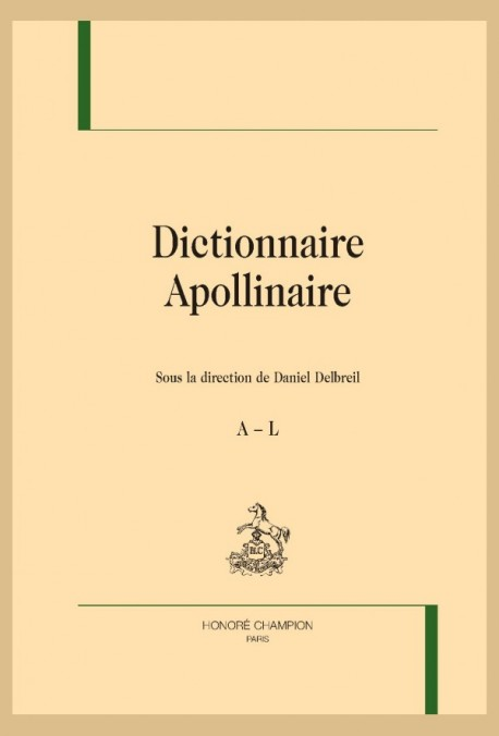 DICTIONNAIRE APOLLINAIRE